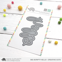 Mama Elephant - Big Scripty Hello, Creative Cuts, Stanssi