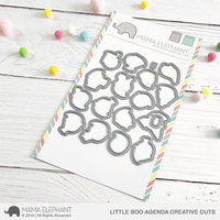 Mama Elephant - Little Boo Agenda, Creative Cuts, Stanssisetti