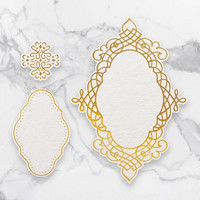 Couture Creations  - Quartet Frames Cut, Foil & Emboss Die