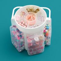 WeR - Craft Caddy Translucent Plastic Storage, Säilytyslaatikko