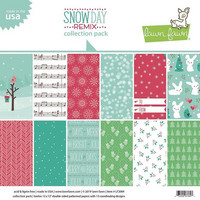 Lawn Fawn - Snow Day Remix Collection 12