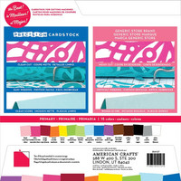 American Crafts - Precision Cardstock Pack 12