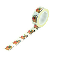 Echo Park - A Cozy Christmas Decorative Tape, 15mmx9m, Sleigh Presents