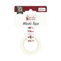 Echo Park - Here Comes Santa Claus Decorative Tape, 15mmx9m, Santa Claus