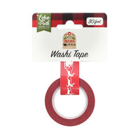 Echo Park - My Favorite Christmas Decorative Tape, 15mmx9m, Sleigh Ride