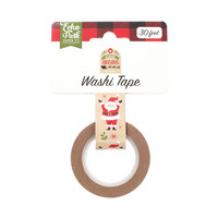 Echo Park - My Favorite Christmas Decorative Tape, 15mmx9m, Celebrate Santa