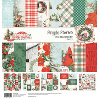 Simple Stories - Country Christmas Collection Kit 12