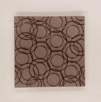 ArtFoamies - Rebekah Meier: Circle Montage, Vaahtomuovileimasin