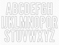 My Favorite Things - Impact Alphabet Die-namics, Stanssisetti