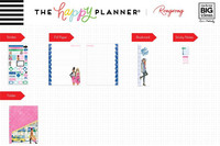 MAMBI - CLASSIC Happy Planner, Rongrong - Hustle Girl, Accessory Pack