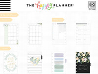 MAMBI - MINI Happy Planner Deluxe 2020, Homebody, päivätty