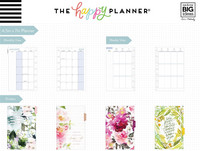 MAMBI - MINI Happy Planner 2020, Spring Floral, päivätty