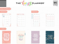 MAMBI - MINI Happy Planner 2020, Be Well - Wellness, päivätty
