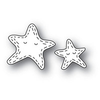 Poppy Stamps - Whittle Starfish, Stanssisetti