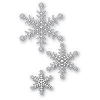 Memory Box - Jolly Snowflake Trio, Stanssisetti