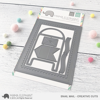 Mama Elephant - Snail Mail, Creative Cuts, Stanssisetti