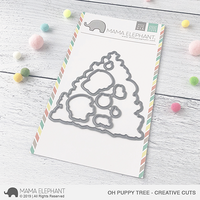 Mama Elephant - Oh Puppy Tree, Creative Cuts, Stanssisetti