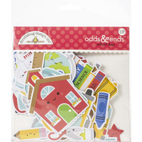 Doodlebug - School Days, Odds & Ends Die-Cuts, 116 osaa