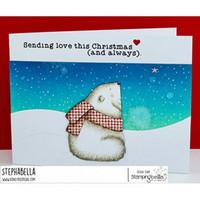 Stamping Bella - Polar Bear Wishing Upon A Star, Leimasetti