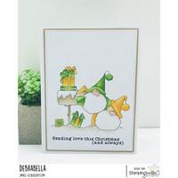 Stamping Bella - Christmas Card Gnomes, Leima
