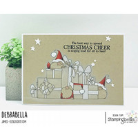 Stamping Bella - Gnomes With Presents, Leima