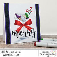 Stamping Bella - One Sip Too Many Gnome, Leima