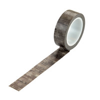Echo Park - Warm And Cozy Decorative Tape, 15mmx9m, Winter Woodgrain