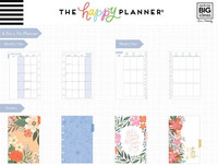 MAMBI - MINI Happy Planner 2020, Lovely Blooms, päivätty