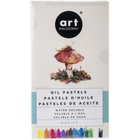 Prima Art Philosophy - Water Soluble Oil Pastels, Basics, 12 kpl