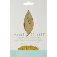 WeR - Foil Quill Foil Sheets, Gold Finch (H)