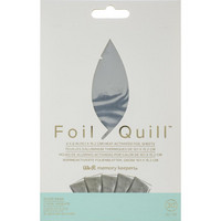 WeR - Foil Quill Foil Sheets, Silver Swan (H)