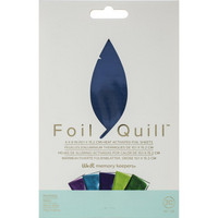 WeR - Foil Quill Foil Sheets, Peacock (H)