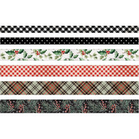 Tim Holtz - Idea-ology Design Tape, Christmas, 6 rullaa