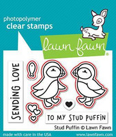 Lawn Fawn - Stud Puffin, Stanssisetti