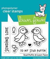 Lawn Fawn - Stud Puffin, Leimasetti