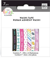 MAMBI - Happy Planner Washi, Fitness, Teippisetti