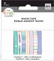 MAMBI - Happy Planner Washi, Wellness, Teippisetti