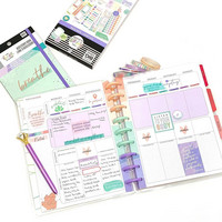MAMBI - CLASSIC Happy Planner, Päiväämätön 12kk, Wellness