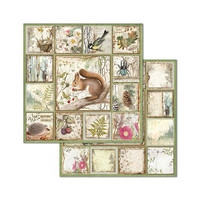 Stamperia - Forest, Paper Pack 8