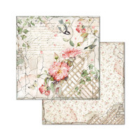 Stamperia - House of Roses, Paper Pack 8