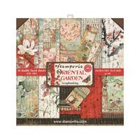 Stamperia - Oriental Garden, Paper Pack 8
