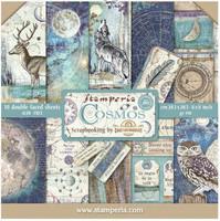 Stamperia - Cosmos, Paper Pack 8