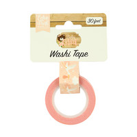 Echo Park - Baby Girl Decorative Tape, 15mmx9m, Stork