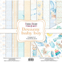 Fabrika Decoru - Dreamy Baby Boy, 8'x8', Paperikko