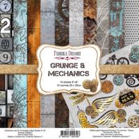 Fabrika Decoru - Grunge&Mechanics, 8'x8', Paperikko