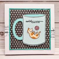 Crafter`s Companion - Sara Signature Collection Crafty Fun, Leima- ja Stanssisetti, Craft in a Mug