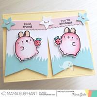 Mama Elephant - Zodiac Rabbit, Creative Cuts, Stanssisetti