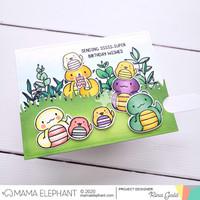Mama Elephant - Zodiac Snake, Creative Cuts, Stanssisetti