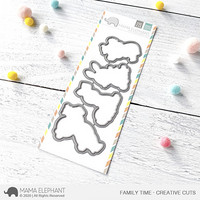 Mama Elephant - Family Time, Creative Cuts, Stanssisetti