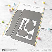 Mama Elephant - Display a Card, Creative Cuts, Stanssisetti